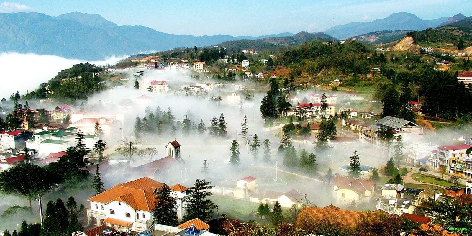 Tam Đảo, điểm đến mù sương. Nguồn: Internet