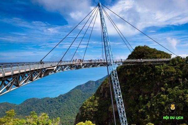 Cầu Langkawi Sky (Malaysia) - những cây cầu đẹp nhất thế giới