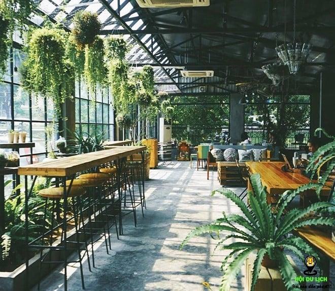 Điểm danh các quán cà phê xanh mướt được yêu thích ở Hà Nội (Part 1)