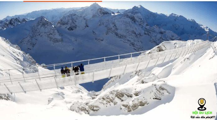 Trải nghiệm thú vị khi đi qua Cliff Walk, cầu treo cao nhất Châu Âu(ảnh sưu tầm)