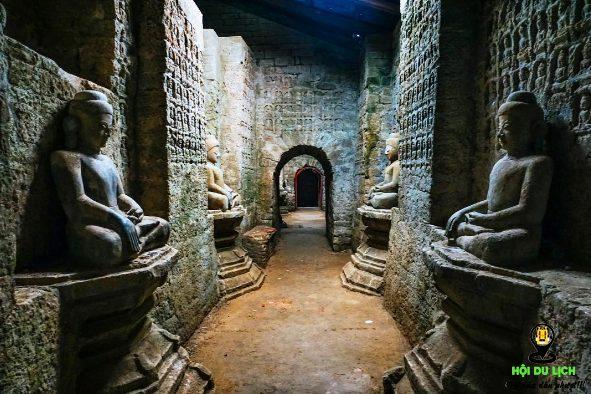 Khám phá đền, chùa ở Mrauk U (ảnh sưu tầm)