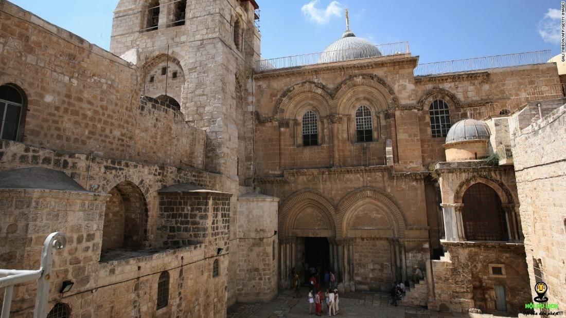 Khu phố cổ nằm ở trung tâm Jerusalem