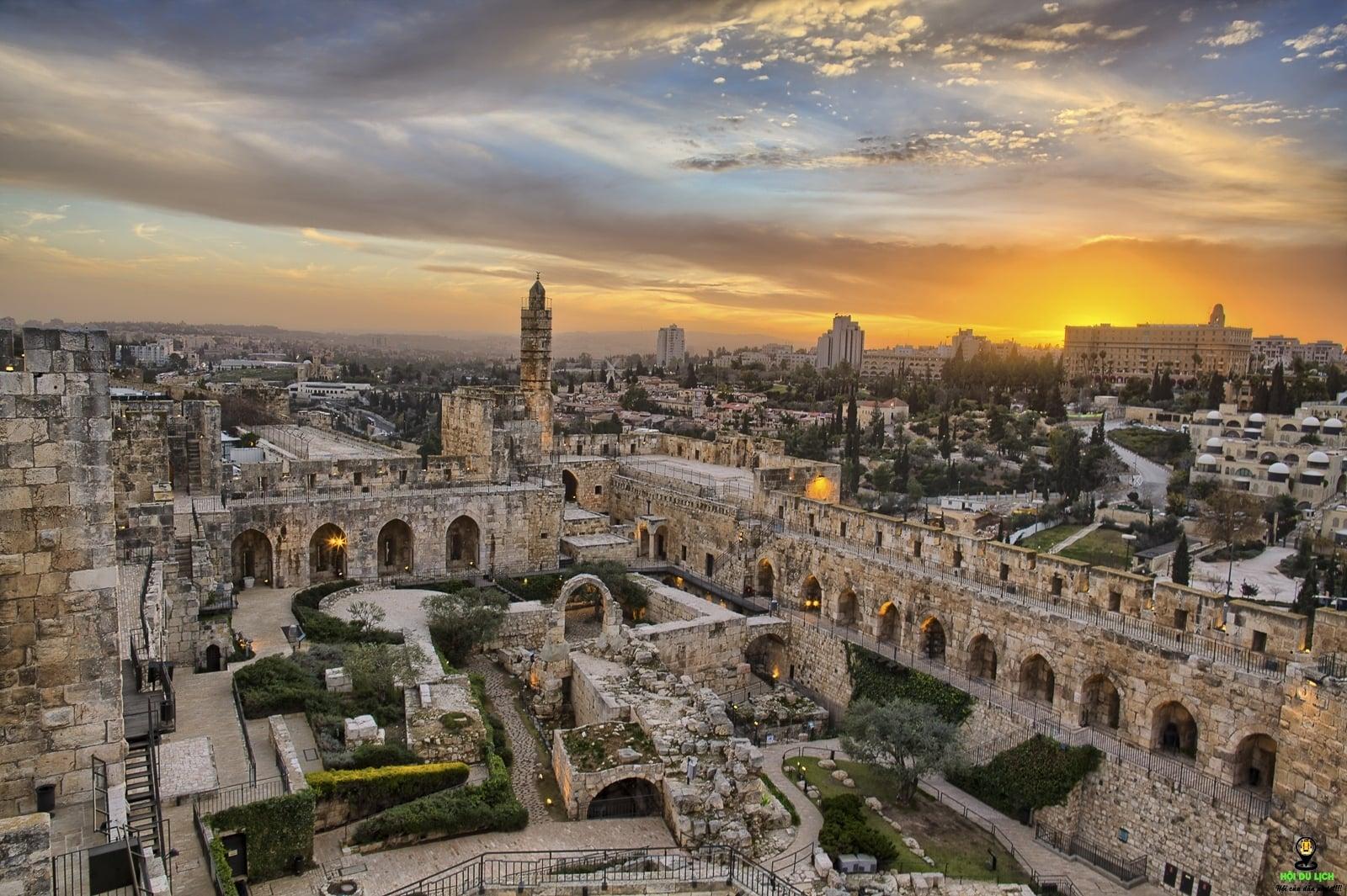 Bình yên vùng đất thánh_Thành cổ Jarusalem