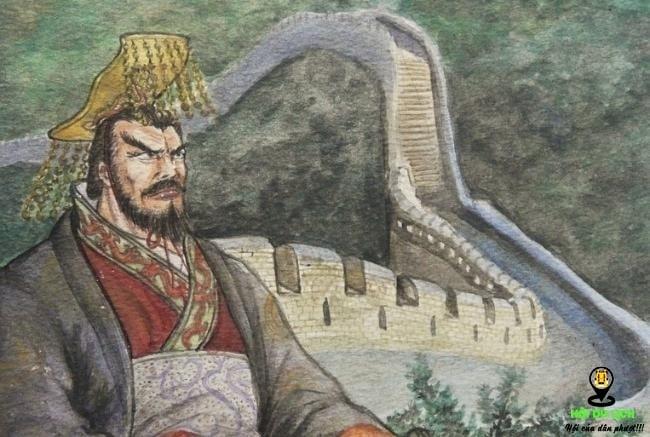 Kết quả hình ảnh cho vua tần thủy hoàng xây vạn lý trường thành