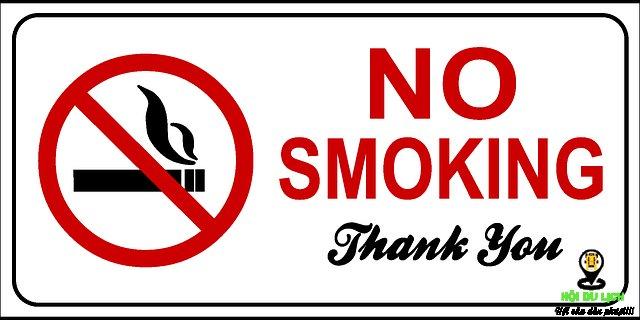 Điểm lưu ý khi du lịch Israel - không hút thuốc vào thứ bảy
