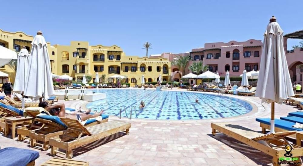 Kết quả hình ảnh cho The Three Corners Rihana Resort egypt