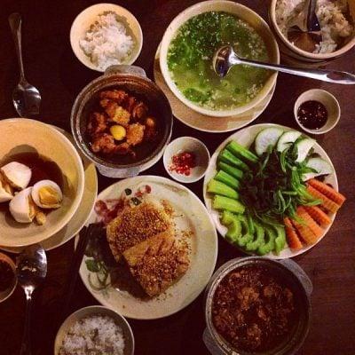 Các món ăn đậm vị truyền thống