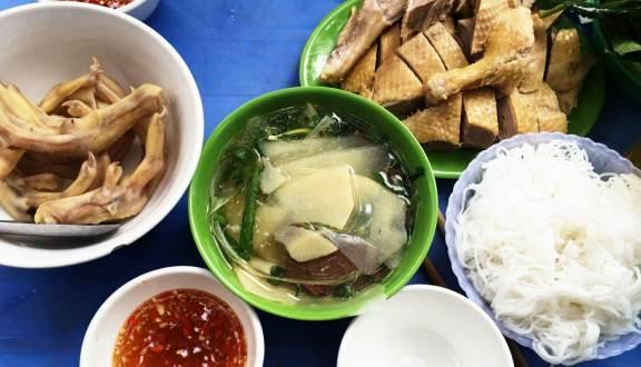 Bún ngan chặt Phùng Hưng