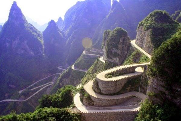 Thiên Môn Sơn một kiệt tác thiên nhiên đẹp nhất Trung Quốc