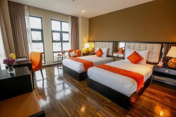 Phòng khách sạn Sanouva Da Nang Hotel sang trọng, sạch đẹp (ảnh sưu tầm)