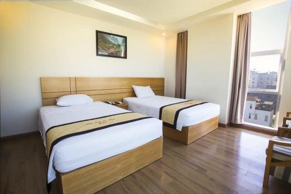 Phòng 2 giường đơn khách sạn Nhat Linh Da Nang Hotel (ảnh sưu tầm)