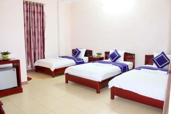 Phòng nghỉ ở khách sạn Ngoi Nha Xanh Hotel (ảnh sưu tầm)