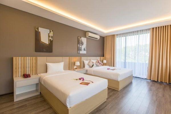 Phòng nghỉ gia đình ở Binh Duong Hotel (ảnh sưu tầm)