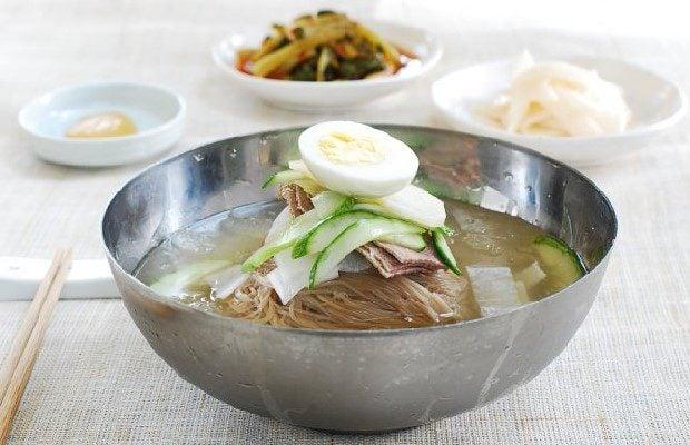 Món Mì lạnh – Naengmyeon (ảnh sưu tầm)