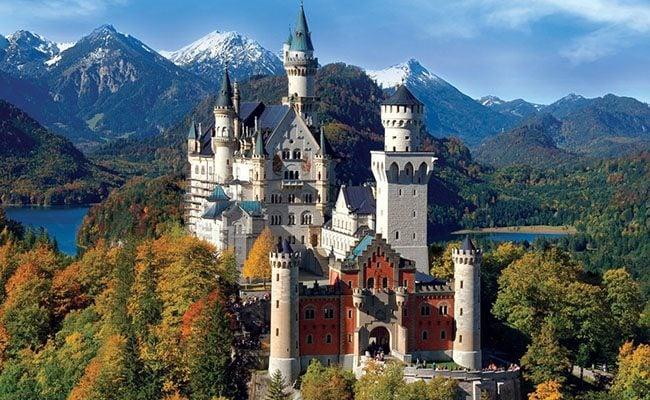 Lâu đài Neuschwanstein xinh đẹp, tráng lệ (ảnh sưu tầm)