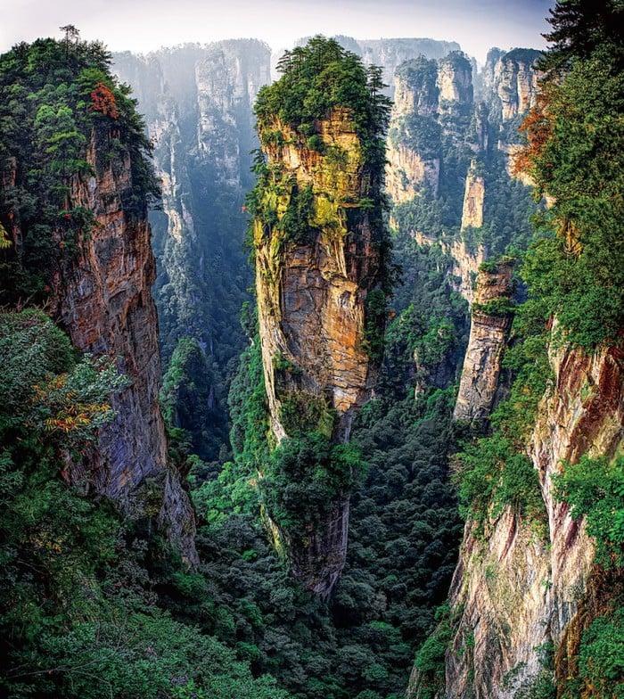 Du lịch ở Vũ Lăng Nguyên- Trung Quốc nơi đẹp như chốn bồng lai (ảnh sưu tầm)