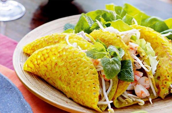 Bánh xèo món ăn vặt ở Đà Lạt- ảnh sưu tầm