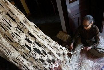 Viên ngọc xanh cù lao Chàm với nghề làm võng ngô đồng trứ danh