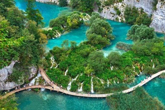Thắng cảnh bậc nhất châu Âu - Vườn quốc gia hồ Plitvice