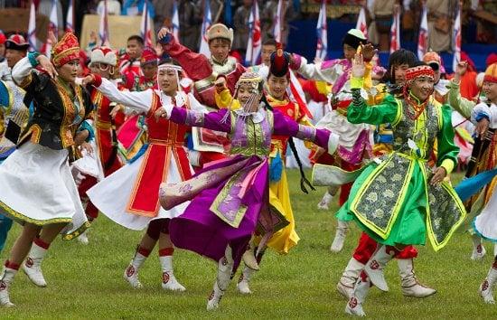 Trải nghiệm lễ hội Naadam của người Mông Cổ.