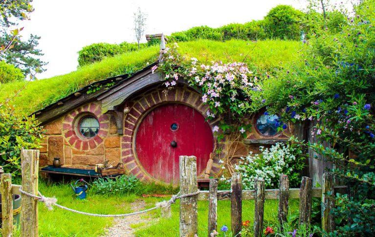 Ngôi làng Hobbiton tuyệt đẹp ở New Zealand (ảnh ST)