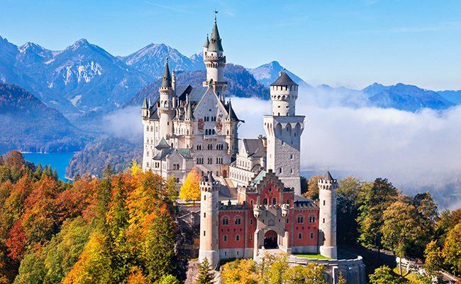 Lâu đài Newschwanstein đẹp như thiên đường(anh sưu tầm)