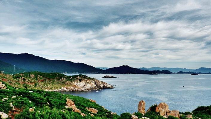 Đảo Bình Hưng đẹp như một bức tranh- ảnh sưu tầm