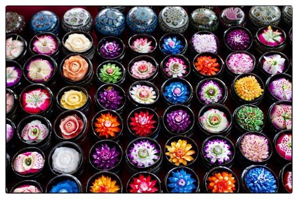 Đồ mỹ phẩm handmade tại Chiang Mai vô cùng phong phú- ảnh sưu tầm