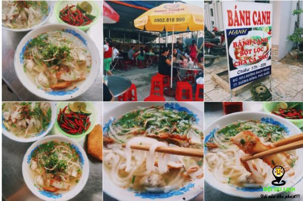Bánh canh chả cá Thu Hạnh ở Phú Quốc- ảnh sưu tầm