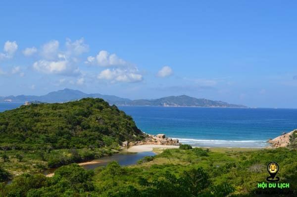 Bãi nước ngọt trên đảo Bình Hưng đẹp tuyệt- ảnh sưu tầm