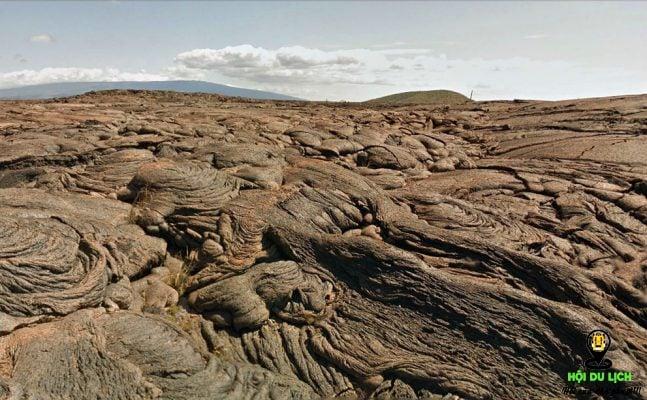 Cánh đồng nham thạch ở Bahia Cartago ở Ecuador- ảnh sưu tầm