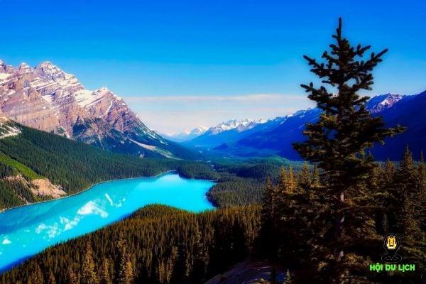 Công viên quốc gia Banff ở Canada - một trong những nơi đẹp nhất thế giới( ảnh sưu tầm)