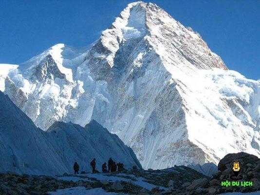 Dãy núi Karakoram ở Pakistan- ảnh sưu tầm