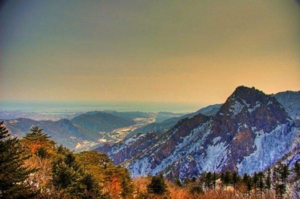 Vườn Quốc gia Seoraksan hùng vĩ ở Gangwondo - ảnh sưu tầm