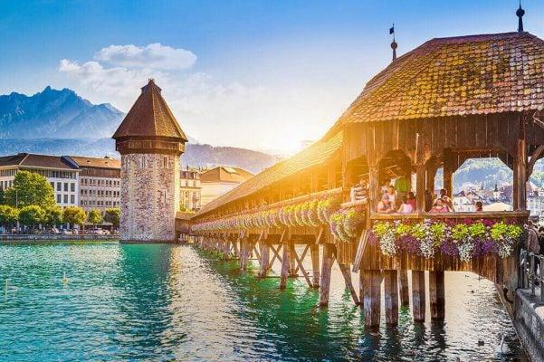 Muà thu tại Lucerne - Thụy Sĩ
