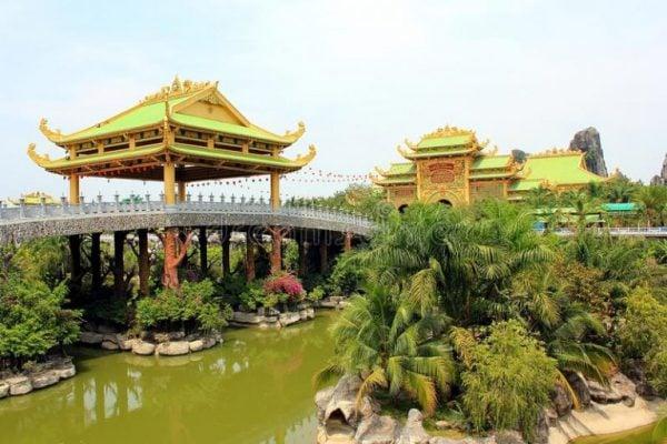 Khung cảnh thiên nhiên tuyệt đẹp ở khu du lịch Đại Nam- ảnh sưu tầm
