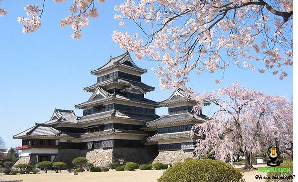 Lâu đài Matsumoto độc đáo ở Nhật Bản- ảnh sưu tầm