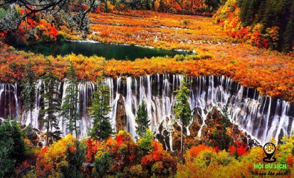 Mùa thu đẹp như mơ ở Cửu Trại Trâu- ảnh sưu tầm