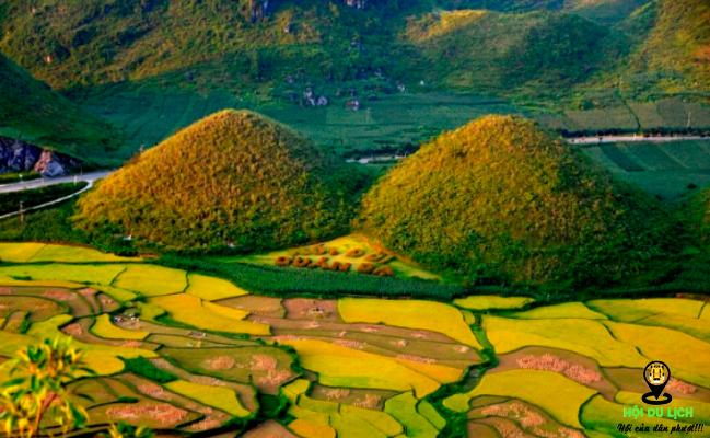 Núi đôi Cô tiên ở Hà Giang- ảnh sưu tầm