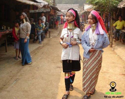 Ngôi làng Karen nét văn hóa độc đáo với những chiếc cổ dài- ảnh sưu tầm