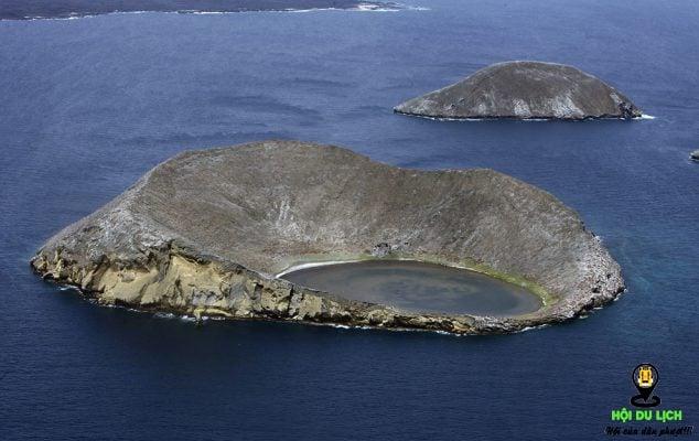 Quần đảo Galapagos nhìn từ trên không- ảnh sưu tầm