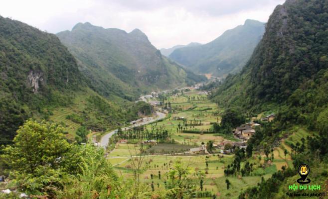 Thung lũng Sủng Là- ảnh sưu tầm