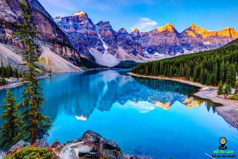 Vẻ đẹp mê hoặc của hồ Moraine- ảnh sưu tầm