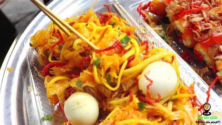 Bánh tráng trộn Nguyễn Siêu đệ nhất Hà Thành