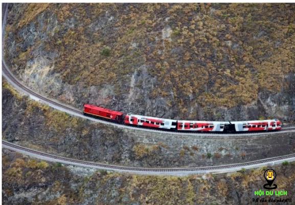 Cung đường sắt mũi quỷ- ảnh sưu tầm