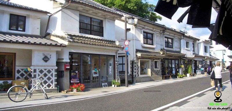 Khu phố cổ Nakamichi-dori đẹp như tranh vẽ- ảnh sưu tầm