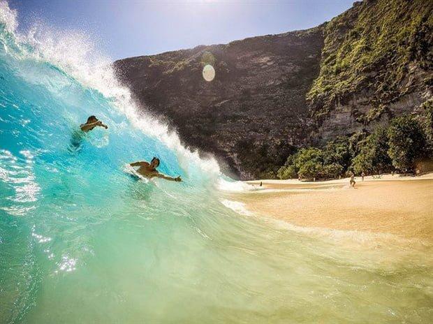 Những con sóng lớn tại Bali