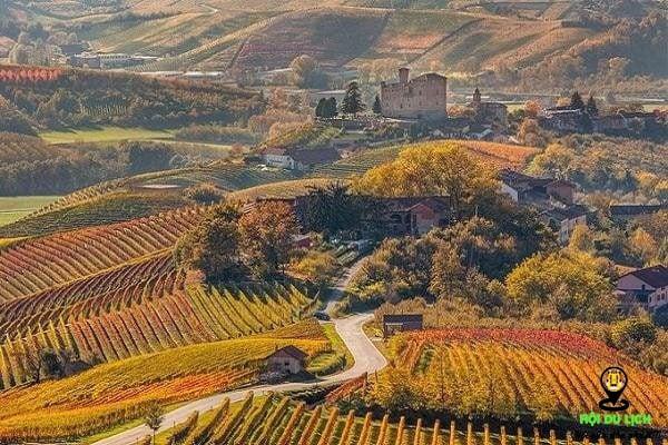 Đến Piedmont vào thu, bạn sẽ có hội tận hưởng rượu vang, hạt dẻ, chocolate…