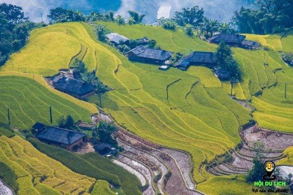 Đẹp ngỡ ngàng ruộng bậc thang tại Hoàng Su Phì (Hà Giang)