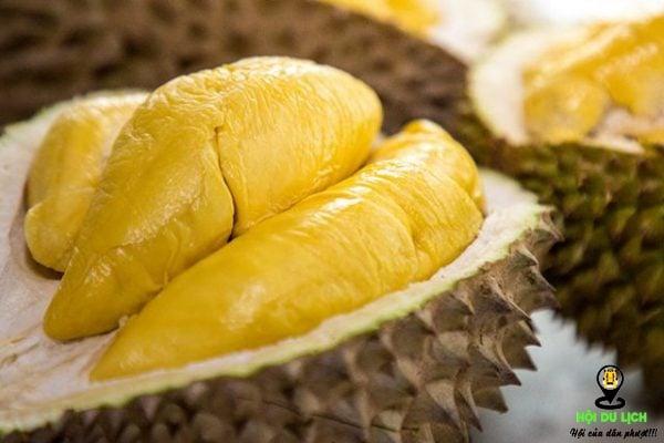 Trái sầu riêng thật hấp dẫn- ảnh sưu tầm